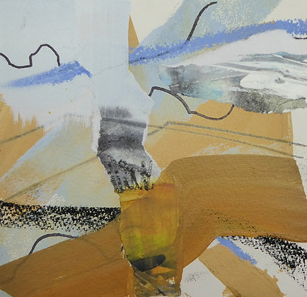 """""""The Soughing Skies"""" by Bron Jones - Freedom Found Exhibition"""