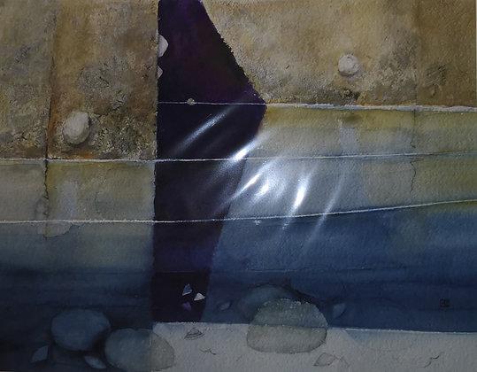 """Golden Pool Corner"" Limited Edition Print 35/100"
