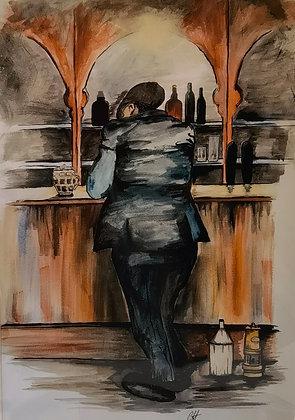 """Last Orders"" - Print by Charlene Hopkins"