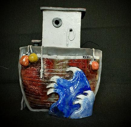 """Cychod Enfawr"" - Huge Boat - Pi Potters"
