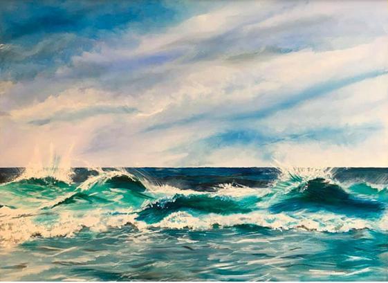 """""""Aqualescence""""- Jill Jones"""