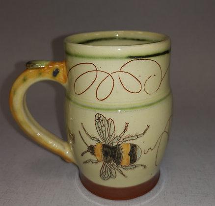 """""""Buff-tailed Bumble Bee Mug""""  by Margaret Brampton"""