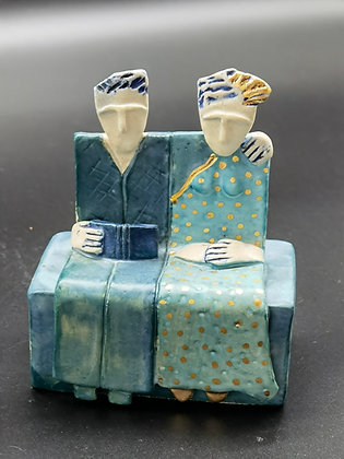 """Ceramic Sculpture """"Together I - Val James"""