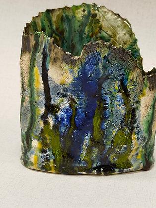 Medium Coral Vase- The Coral Range - Lesley Badger
