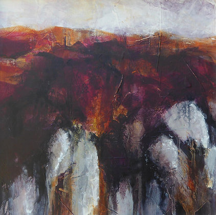 """""""The Forge, Porthgain"""" by Bron Jones - Freedom Found Exhibition"""