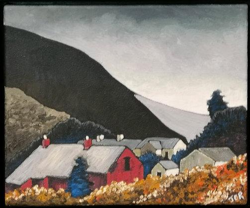 """Ty Newydd Farm"" by Janette Roberts"
