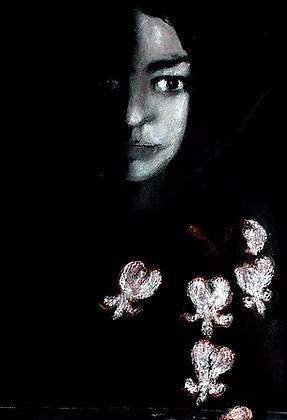 """Bleeding Hearts"" - Flower Series by Jacqueline Alkema"