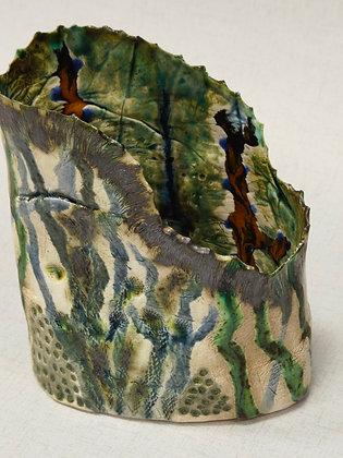 Medium Coral Vase II- The Coral Range - Lesley Badger