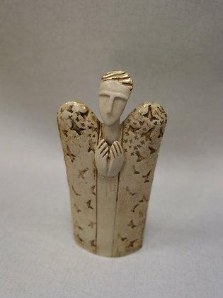 "Ceramic Sculpture ""Guardian Angel III - Val James"