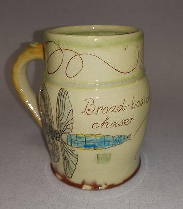 """""""Broad Bodied Chaser Mug""""  by Margaret Brampton"""
