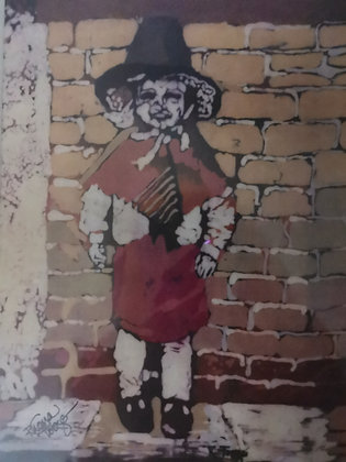 """St David's Day"" Small Print by Rhona Tooze"