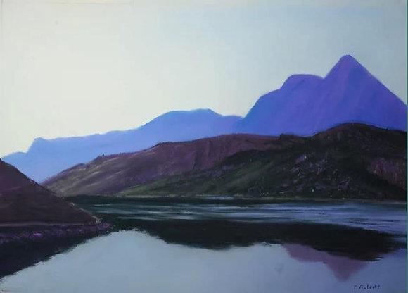 Y Lliwedd across Glaslyn - Dave Roberts