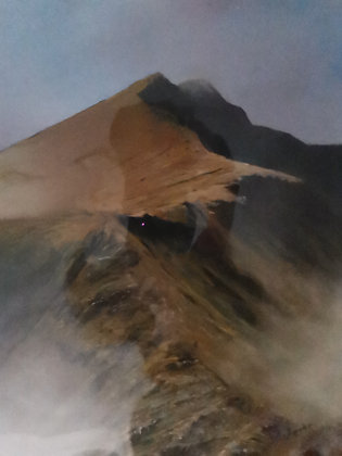 """A Brief Glimpse of Y Lliwedd"" Limited Ed Giclee Print by Dave Roberts"