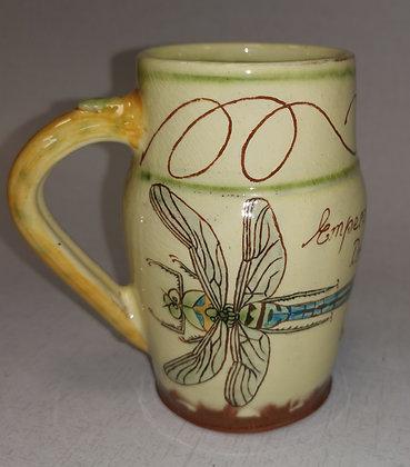 """Emperor Dragonfly Mug""  by Margaret Brampton"