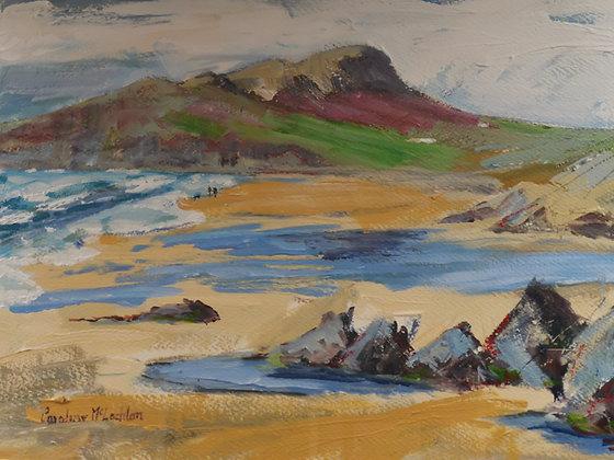"""""""Quiet Day on Whitesands"""" - Caroline MacLachlan"""