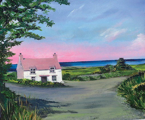 """Road to Abercastle"" Giclee Print - Jill Jones"