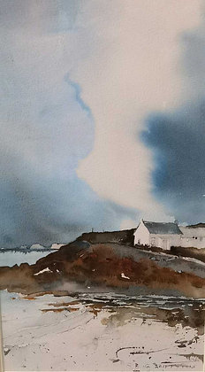 """""""St Brides Haven"""" - Watercolour by Gary Griffiths"""