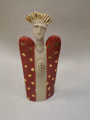 "Ceramic Sculpture ""Guardian Angel II - Val James"