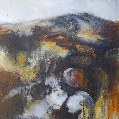 """""""Storm on Tair Carn"""" by Bron Jones - Freedom Found Exhibition"""