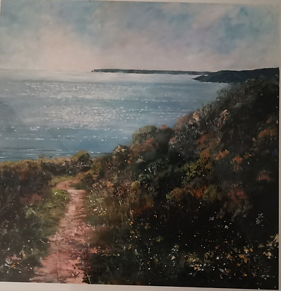 """Freshwater East to Stackpole"" - Jantien Powell - Print"