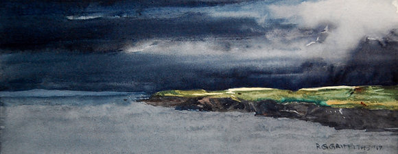 """""""Pembrokeshire Headland""""  Ltd Ed Giclee Print by Gary Griffiths"""