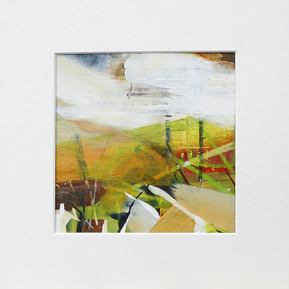 """Linear landscape 3"" by Bron Jones - Freedom Found Exhibition"