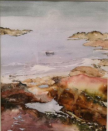 """""""Coastal Colours"""" - Watercolour by Gary Griffiths"""