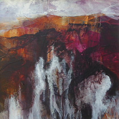 """""""Echoes of Penclegyr, Porthgain"""" by Bron Jones - Freedom Found Exhibition"""
