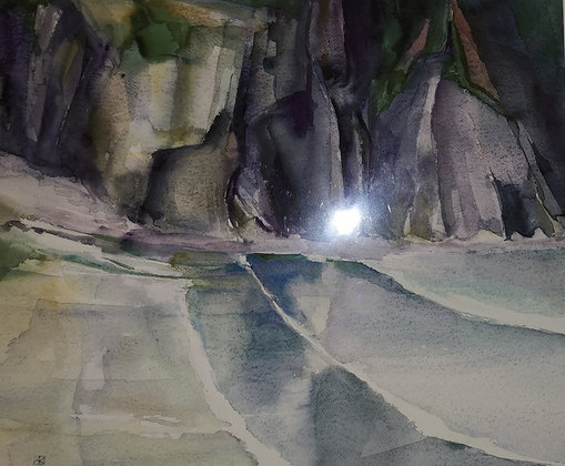 """""""Shadow Cove"""" Limited Edition Print 30/100"""