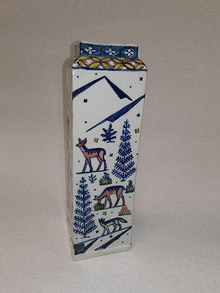 Kutani style Vase by Russell Coates
