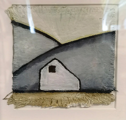 """""""Cottage 1 - Valley Cottage Series"""" - Janette Roberts"""