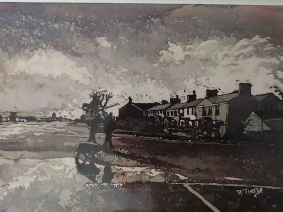 """Burry Port"" Print by Rhona Tooze"