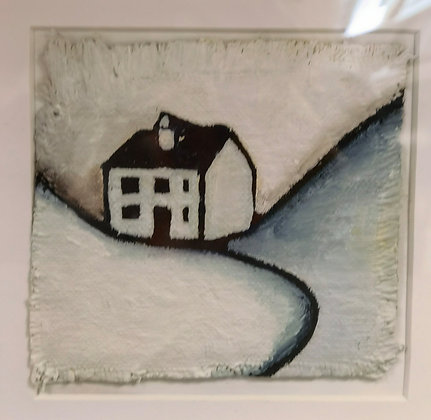 """""""Cottage 4 - Valley Cottage Series"""" - Janette Roberts"""