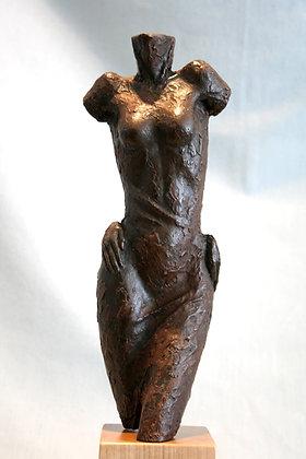 Diva - Iron Resin Sculpture - Angela Farquharson