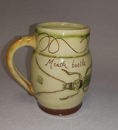 """Musk Beetle  Mug""  by Margaret Brampton"