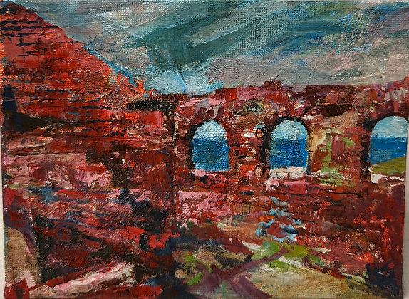Pendegyr Ruins, Porthgain I - Victoria Reynolds Miniatures
