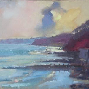 """A moment of Reflection - Amroth"" by Jon Houser"