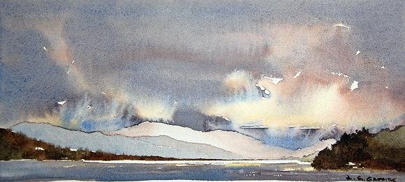 """Breaking Light, Llyn Tegid"" Ltd Ed Giclee Print by Gary Griffiths"