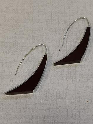 Panayotav Burgundy Earrings