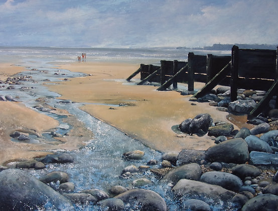 """""""Journey to the Sea - Amroth"""" - Jantien Powell"""