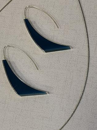 Panayotav Kingfisher Blue Drop Earrings