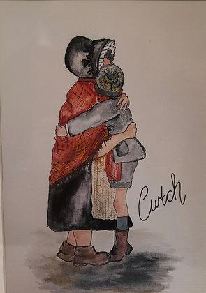 A Cwtch - Print by Charlene Hopkins