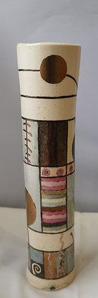Contemporary Vase Bonze/Gold colours - Catherine Rich