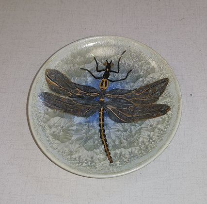 Small Contemporary Dragonfly Dish - Catherine Rich