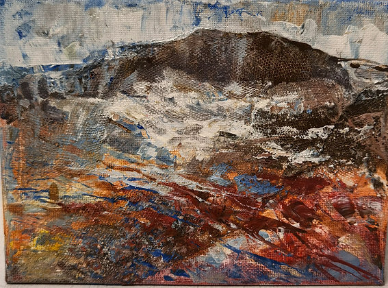 Little Grey Rock, Abermawr - Victoria Reynolds  Miniatures