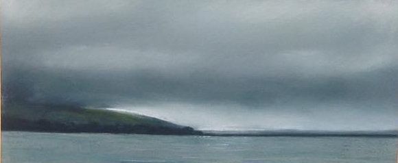 Towards Pendine Sands - Pastel by Marilyn Molyneux