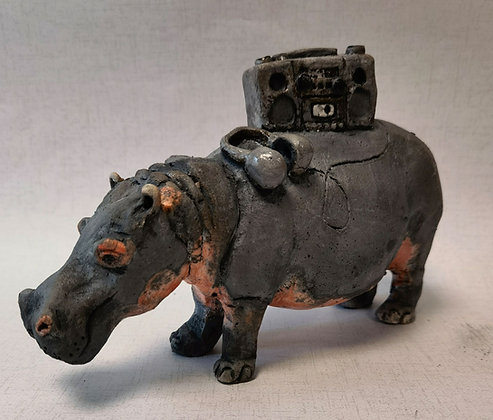 """""""Horace Hippo""""- by Pi Potters"""