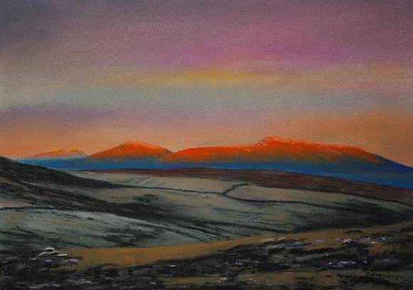 """Morning View at Arenig Fawr""  - Dave Roberts"