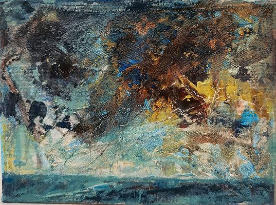 """Drizzled Cloud, Caerfai"" - Victoria Reynolds"