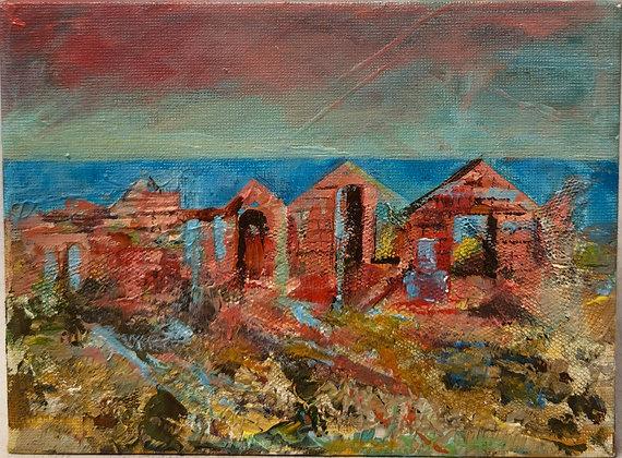 Pendegyr Ruins, Porthgain IV - Victoria Reynolds Miniatures
